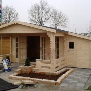 Nieuwe blok hutten geplaatst